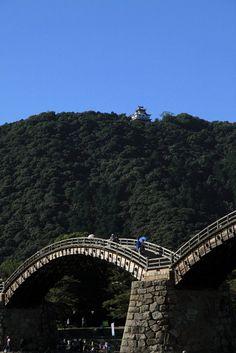 Kintai-kyo Bridge, Iwakuni, Yamaguchi, Japan