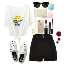"""""""Untitled #139"""" by lucyvha ❤ liked on Polyvore featuring Kate Spade, Casetify, Keds, River Island, Tory Burch, Ray-Ban, MAC Cosmetics, Smashbox, Topshop and Eos"""