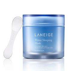 14 Must Have Korean Beauty Products - Laneige Water Sleeping Mask - Recharge dehydrated skin overnight.