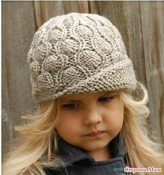 . Интересная шапочка