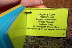 Preschool Song Booklet. I don't know all of these, but it would be a fun idea to collect different songs.