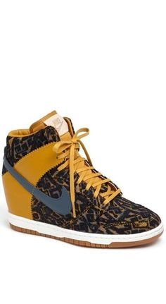 Nike Wedge Sneaker. @Melissa Squires Squires Squires Squires Squires Henson Van Stylin'  dying huh!?!?