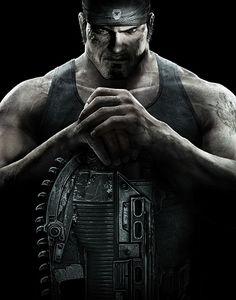 Gears of War 3 Concept Art (Marcus Fenix)