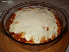 Meat Recipes, Noodles, Pudding, Cooking, Desserts, Food, Macaroni, Kitchen, Tailgate Desserts