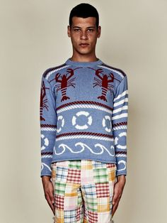 Thom Browne lobster sweater
