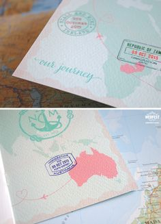 destination wedding invitations http://www.wedfest.co/passport-wedding-invitations/