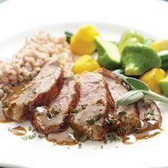 Mustard-Maple Pork Tenderloin - EatingWell.com
