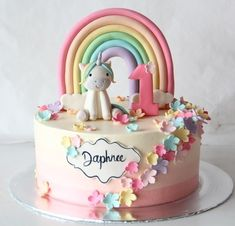 This is what I had for my birthday a unicorn birthday cake , Baby Birthday Cakes, Unicorn Birthday, Little Pony Cake, Chocolate Chip Cake, Novelty Cakes, Girl Cakes, Savoury Cake, Fondant Cakes, Cake Designs