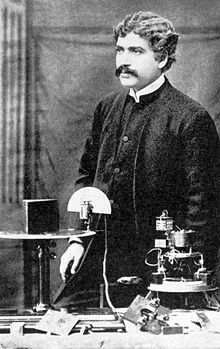 "Jagadish Chandra Bose - Wikipedia, the free encyclopedia  ""Should Professor Bose succeed in perfecting and patenting his 'Coherer', we may in time see the whole system of coast lighting throughout the navigable world revolutionised by a Bengali scientist working single handed in our Presidency College Laboratory."""