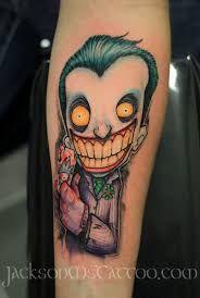 Risultati immagini per tattoo joker batman