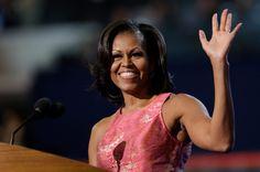 michelle obama   Obama x Romney: na audiência do discurso, Michelle Obama foi melhor