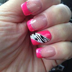 Pink/Zebra