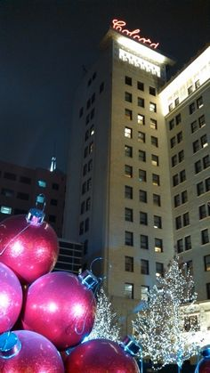 Downtown Oklahoma City in December