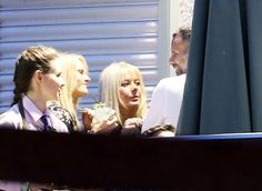 Ryan Giggs laughs and jokes with women at his restaurant amid marriage problems (See Photos)