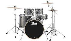 Export Drum Set  22/12/13/16/14SD w/HWP830 Hardware - Grindstone Sparkle - Long & McQuade - Pearl