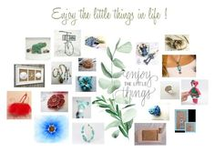 """Enjoy the little things in life !!"" by zebacreations ❤ liked on Polyvore featuring Liz Claiborne"