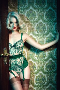 Palmers by Lena Hoschek Lingerie Collection ~ Photo by Hilde van Mars