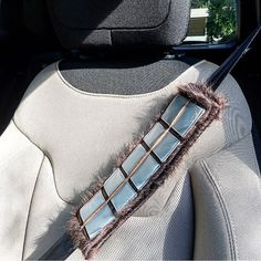 Handmade Chewbacca Bandolier Star Wars Seat Belt Cover with Velcro Straps #chewbacca #seltbelt