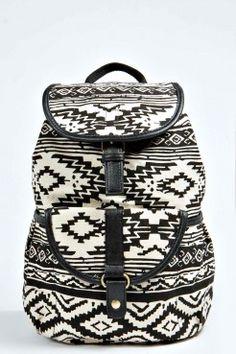 Joss Large Aztec Pocket Front Rucksack - Sacs - Accessoires