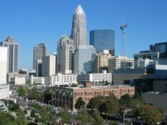 Charlotte in North Carolina