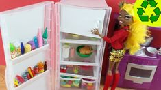 Craft: Make a Doll Refrigerator - EP 739