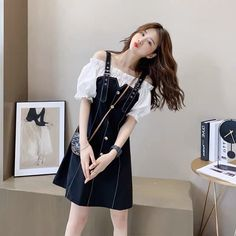 Cute Skirt Outfits, Cute Casual Outfits, Cute Skirts, Stylish Outfits, Girl Outfits, Ulzzang Girl, Ulzzang Fashion, Korean Fashion, Girl Fashion
