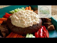 How To Make Garden Veggie Dip in a Bread Bowl