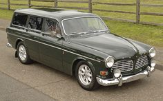This 1968 Volvo 122S wagon is believed to have been sold new in California and has benefited from a recent repaint, interior refresh, and mechanical work. The inline-four was bored out to B20 specifications 25k miles ago, and a head from a fuel-injected car was added with new lifters, guides, seats,