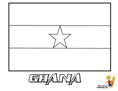 Best Make Your Own Flag Coloring Page