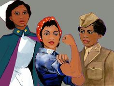 """""""Invisible Warriors"""" New Documentary Highlights Contributions Of Black Women During World War II  During the war, 600,000 black women worked in war production, military and government service. In order to honor these women, educator and historian, Gregory S. Cooke, whose mother served as a clerk typist during the war, started working on a documentary, Invisible Warriors: African American Women in World War II so these women could share their stories. Read more at http://madameno"""