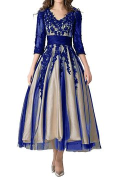 online shopping for Abaowedding Women's Lace Applique Tea-Length Mother Bride Dresses Prom Gowns from top store. See new offer for Abaowedding Women's Lace Applique Tea-Length Mother Bride Dresses Prom Gowns Party Dresses For Women, Trendy Dresses, Nice Dresses, Prom Dresses, Dresses With Sleeves, Dress Prom, Halter Dresses, Hippie Dresses, Lace Sleeves