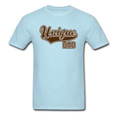 Unique DAD Two Color Design T-Shirt