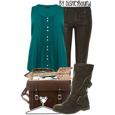 Disney Bound - Merida (Found on Disney Bound Polyvore)
