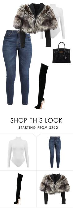 """Untitled #343"" by sb187 ❤ liked on Polyvore featuring Casadei, Lolita Lempicka and Hermès"