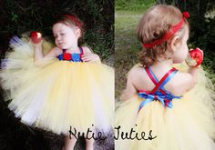 Snow+White+Tutu+Dress+Birthday+Halloween+Costume+by+KutieTuties,+$94.95