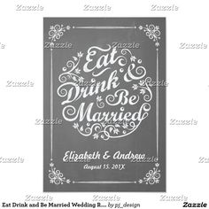 Eat Drink and Be Married Wedding R.S.V.P.