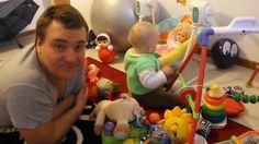 Вика с папой изучают новые игрушки. Детский канал Viki Land #9