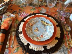 A Lovely Summer Tablescape Can Transition Beautifully Into Autumn
