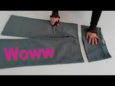 Benden Size - YouTube Recycle Jeans, Woodworking Projects Plans, Recycling, Sewing, Channel, Youtube, Jean Blouse, Jean Outfits, Brother Sewing Machines