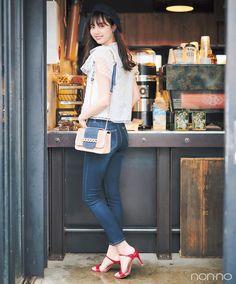 Asian Woman, Asian Girl, Cafe Design, Japan Fashion, Stylish, Pretty, Casual, Model, How To Wear