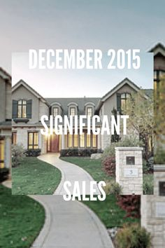 Significant Sales : LIV Sotheby's International Realty December 2015