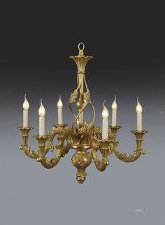 Bespoke carved chandelier by www.rubensartgallery.com