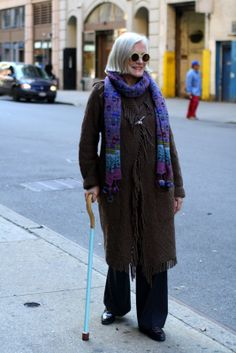ADVANCED STYLE: A Well Designed Cane