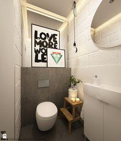 Po skandynawsku - Mała łazienka, styl skandynawski - zdjęcie od ELEMENTY