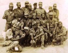 """Elite"" African Comandos from Portuguese Army - Colonial War, Guiné-Bissau (Guinea) 1964-74"