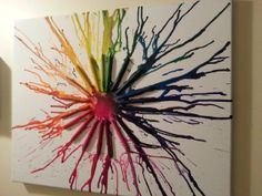 Create Your Own Melted Crayola Crayon Art by BeyoutifulDisaster