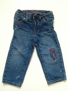 Distressed jeans, 18 months
