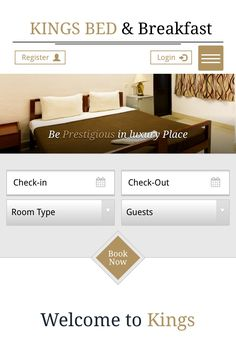 Website design and development for kings service apartments chennai
