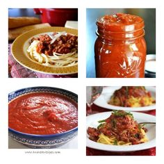 [Daily Slow Cooker Surprise] Eight Surprisingly Easy Slow Cooker Pasta Sauce Recipes by Food Bloggers  [via Slow Cooker from Scratch] #SlowCooker #CrockPot