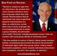 Ron Paul on Racism.